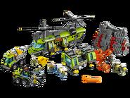 60125 L'hélicoptère de transport du volcan