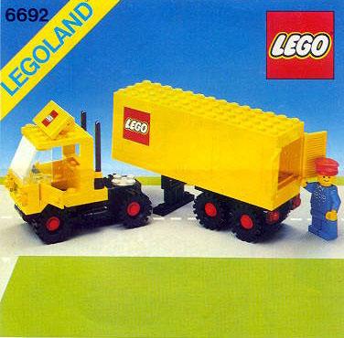 6692 Tractor Trailer Brickipedia Fandom Powered By Wikia