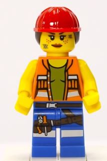 Gail the Construction Worker Mini Figure LEGO 71004 The Lego Movie
