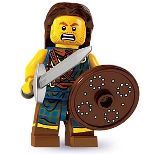 LEGO MINIFIGURES  SERIE 6  8827  BANDITO  NUMERO  5  NUOVO