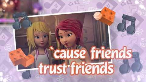 LEGO Friends - Friends Trust Friends - Video Musicale - Inglese