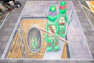 Leon Keer Hambourg Teenage Mutant Ninja Turtles