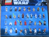 Star Wars Minifigure Poster 2011
