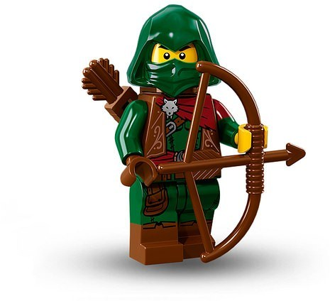 Lego Minifig Bow /& Arrow x 1 Quiver x 1 Black Weapons for Minifigure