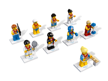 lego team gb swimmer