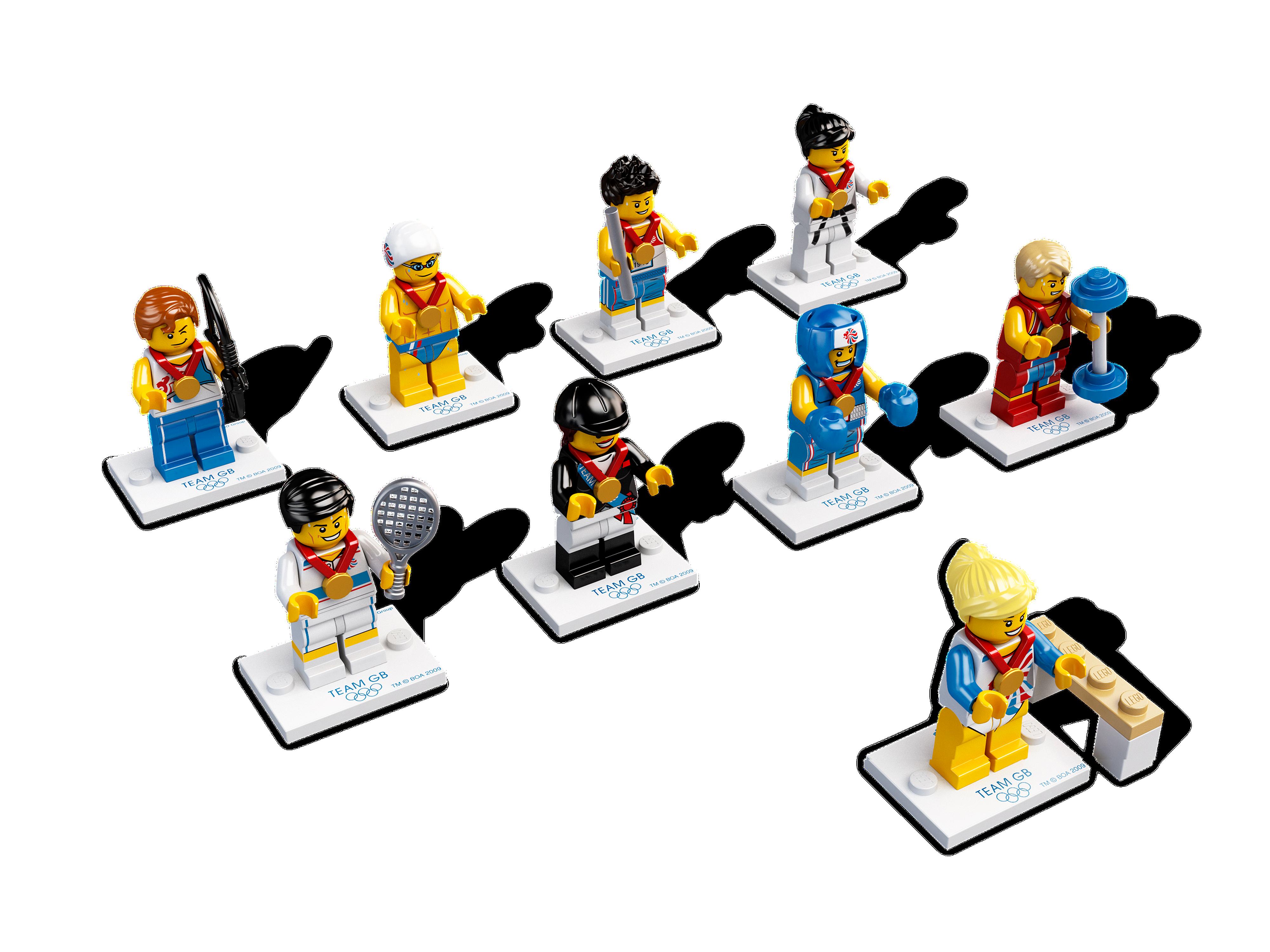 Team GB Minifigures