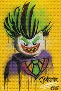 The LEGO Batman Movie Poster graffiti The Joker