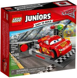 10730 Lightning McQueen Speed Launcher Box