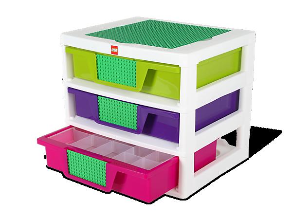 5001164 Caisse de rangement à 3 tiroirs filles | Wiki LEGO | FANDOM powered by Wikia