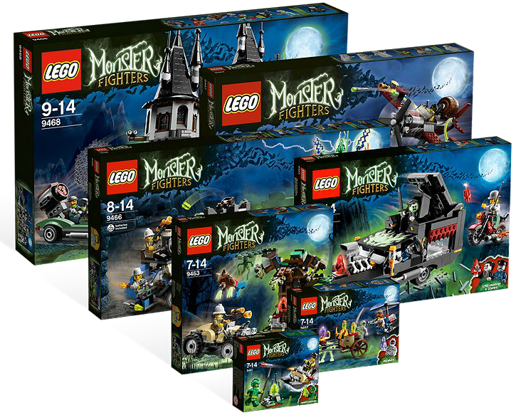5001133 monster fighters collection - Lego Monstre