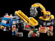 60075 L'excavatrice et le camion