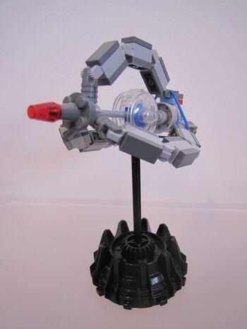 Customdroid Tri Fighter Mini Model Brickipedia Fandom Powered