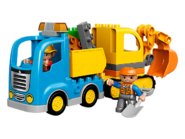 10812 Le camion et la pelleteuse 2