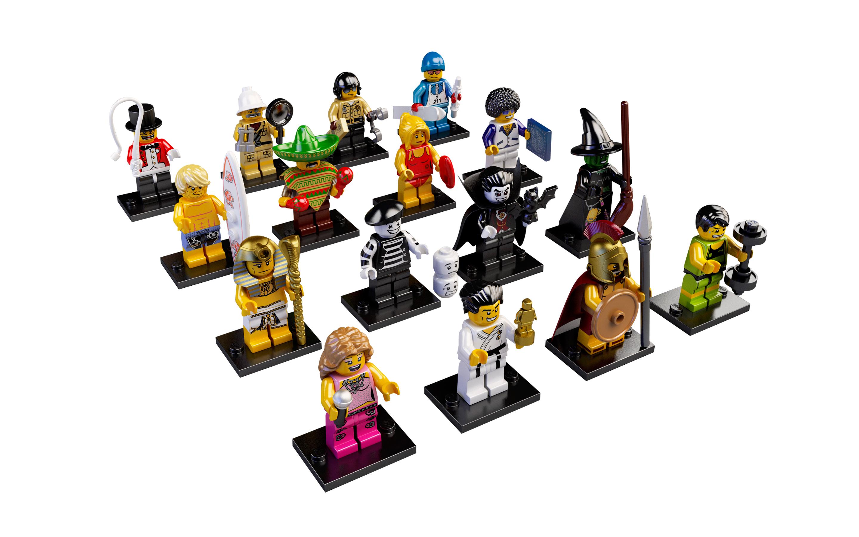 Lego minifigur lego série 18 Brick Suit Girl-COMPLET