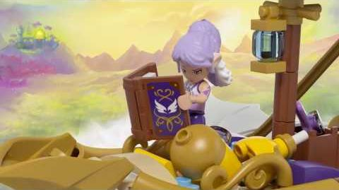 Aira's Airship & The Amulet Chase 41184 - LEGO Elves - Product Animation