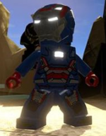 Iron Patriot In Game