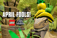LEGO Jurassic World Vélociraptor