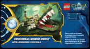 Legends of Chima Online Crocodile légendaire