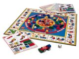 3093 The Race to Build It Board Game