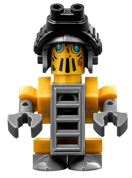 LEGO NINJAGO Tai-D robot Ninja MINIFIGURE From Set 70594 New Lighthouse Siege