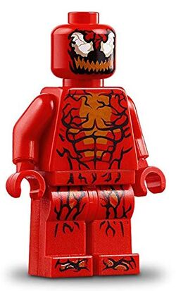 LEGO-Super-Heroes-Carnage-Minifigure-Split-from-76113-Bagged-B07L429YXP