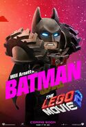 Lego movie two the second part batman poster