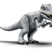 2 X Jurassic Park Dinosaur World Minifigures Tyrannosaurus Indominus Rex Neu