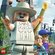 LEGO Jurassic World John Hammond