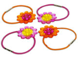 7505 Flowered Hair Bands