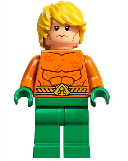 NEW Aquaman From Book 76000 76027 71237 Crab Fish Super Heroes Lego minifigure