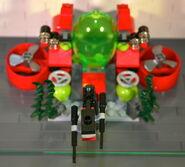 Brickmaster Atlantis - Bohrstation draufsicht II