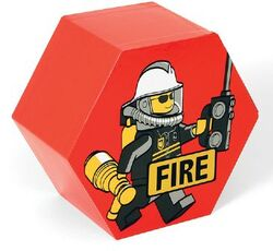 SD656red Storage Jar Fire Red