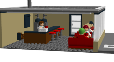 Coffee Corner interitor