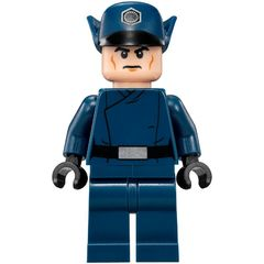 Lego First Order Officer blue