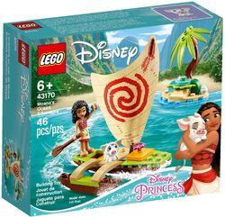 43170 Moana's Ocean Adventure Box