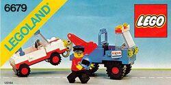 6679 Exxon Tow Truck