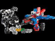 76150 Le Spider-jet contre le robot de Venom