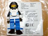 Aquanauts Minifigure Pocket Clip