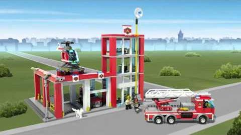 LEGO City - Fire Station 60004