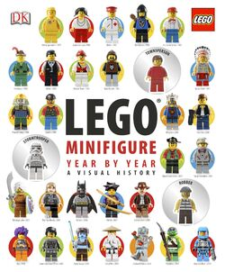 LEGO Minifigure Year by Year A Visual History book cover