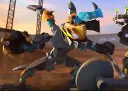 Splitter Beast animated