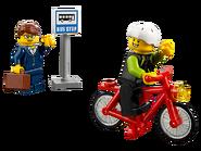 60134 Le parc de loisirs - Ensemble de figurines City 11