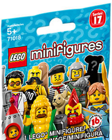 LEGO Series 17 Circus Strong Man Minifigure