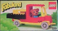 329-Bernard Bear and Pickup Truck