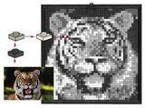 K34434 LEGO Mosaic Tiger