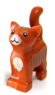 LEGO CAT MINIFIGURE ANIMAL TOWN CITY