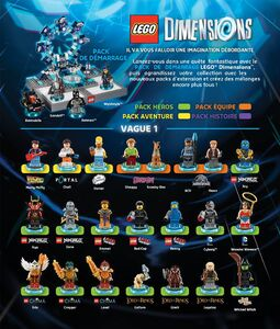 LEGO Dimensions Vague 1