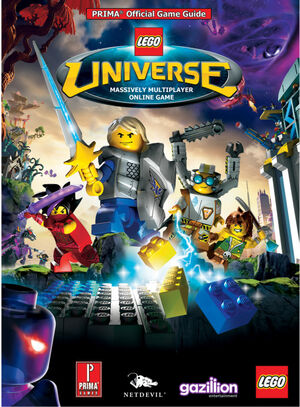 2856027 LEGO Universe Official Prima Game Strategy Guide