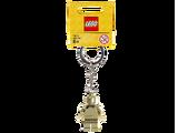 850807 Gold Minifigure Key Chain
