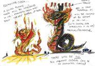 Fire Fang Concept Art